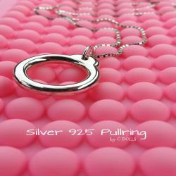 Pullring Bly  Silver 925