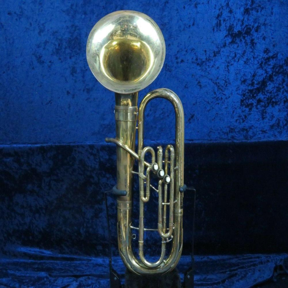 **Reynolds Contempora 3 Valve Baritone Horn Ser#67479 Detachable Bell Big Sound