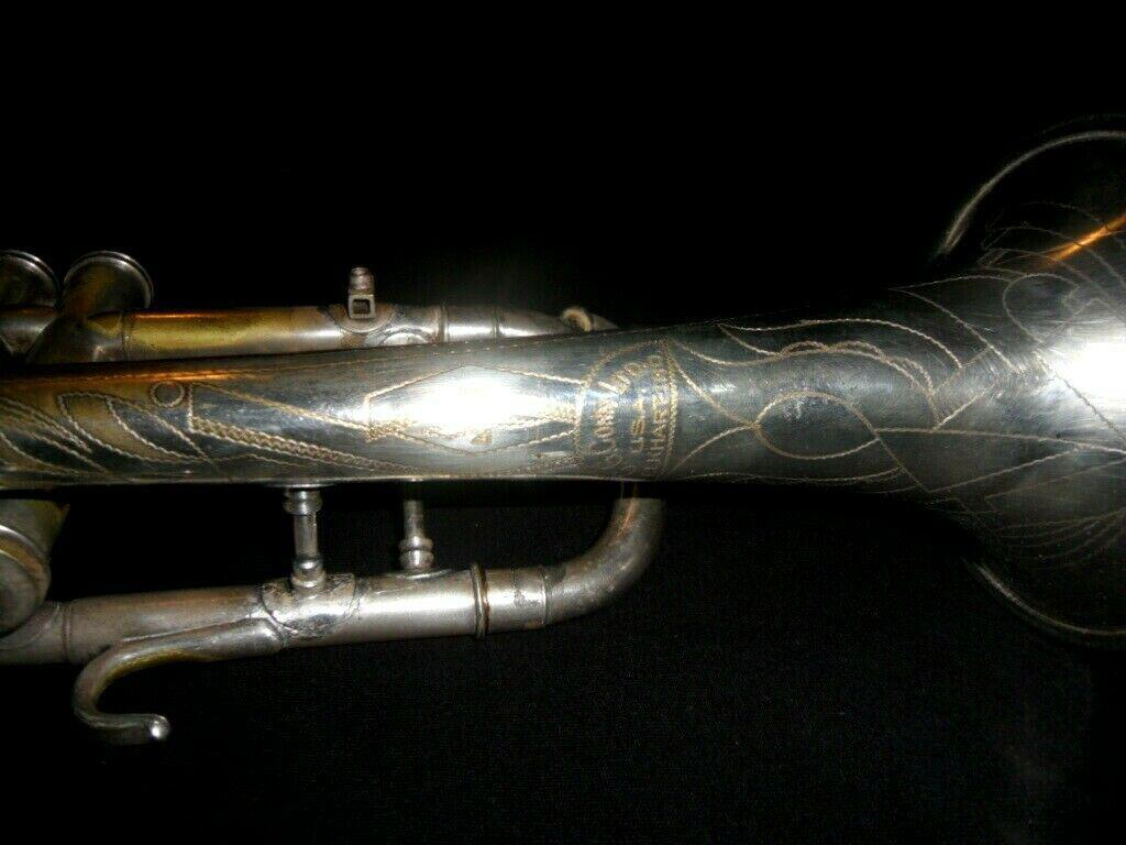 1936 Conn 80a Silver Cornet: Outstanding Player: Best Valves Ever: Reconditioned