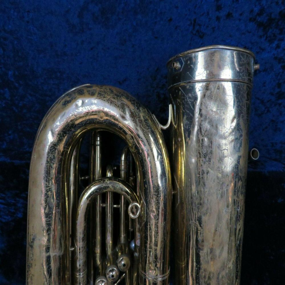 **Reynolds Contempora BBb 3 Valve Bell Front Piston Tuba Ser#59378 Plays Well