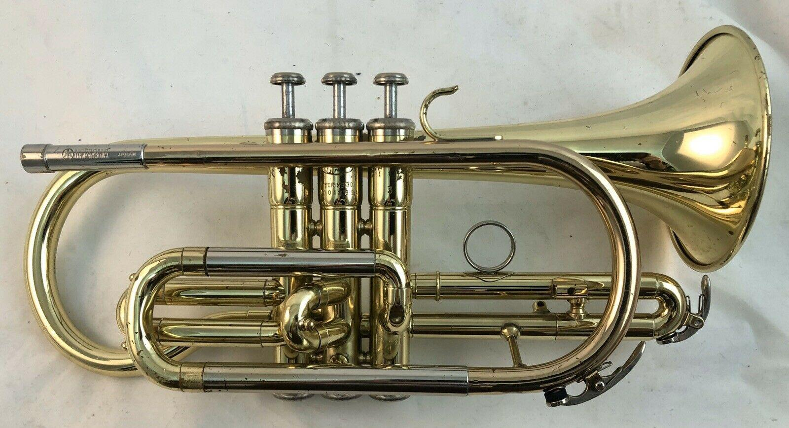 Yamaha YCR-2330  Student Bb Cornet Shepherds Crook