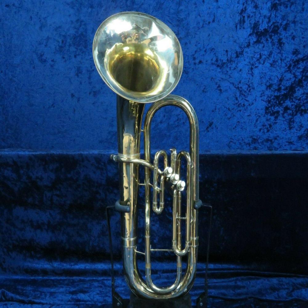 *Conn 3 Valve Baritone Horn Ser#N17924 Needs Lead Pipe Repair