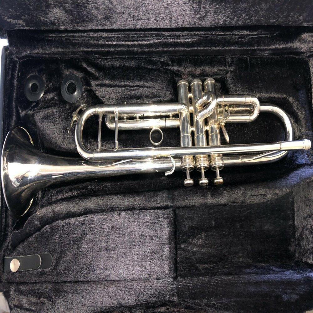 Used King Silver Flair Bb Trumpet