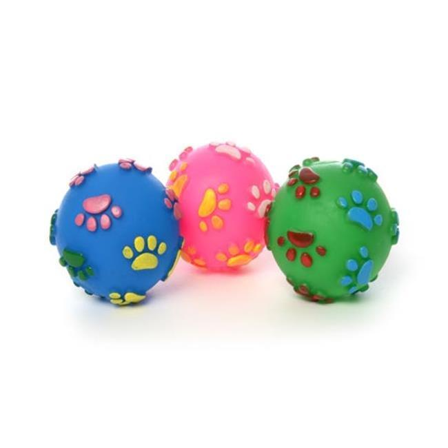 Bonita Home 2324466 Pet Squeaky Ball Toy, 3 Colors - Case of 80
