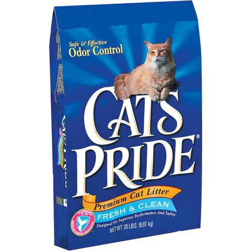 Cat's Pride Premium Scented Odor Control Clay Cat Litter, 20 lb Bag