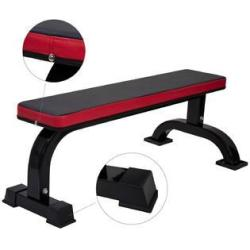 Allieroo Ollieroo Flat Weight Bench for Weight Lifting Sit Up Bench Strength Training ...