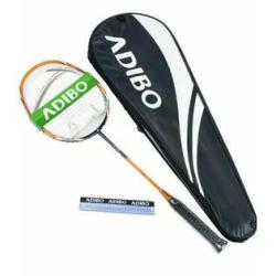 ADIBO Badminton Racket, Professional Racquet with Bag for Outdoor (Set of 2)