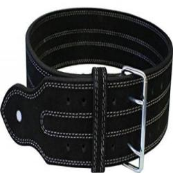 Ader Sporting Goods Leather Power Weight Lifting Belt- 4