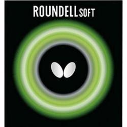 Butterfly (Butterfly) Butterfly 2.1 Roundell Soft Rubber Black Table Tennis Rubber Japan Import