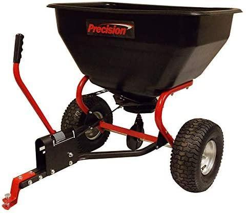 Precision Products TBS7000RDOS 7 Series 200-Pound Tow Behind Broadcast Spreader with Rain Cover
