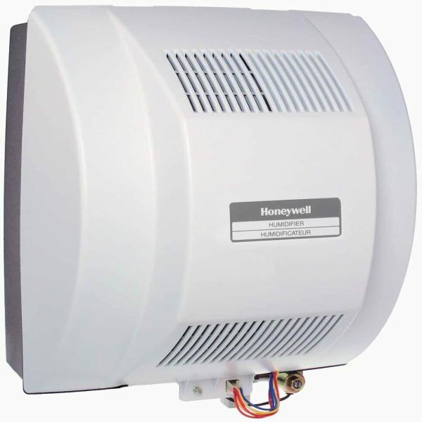Honeywell He360 Powered Flow Through Humidifier Whole House