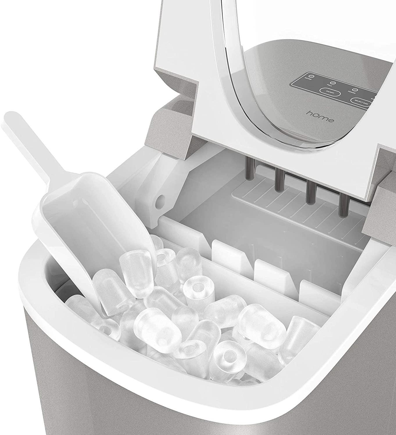 Ice Cream Machines Home Portable Ice Maker Machine For Countertop Energy Saving Countertop Ice Machine Electric Ice Maker With Ice Shovel