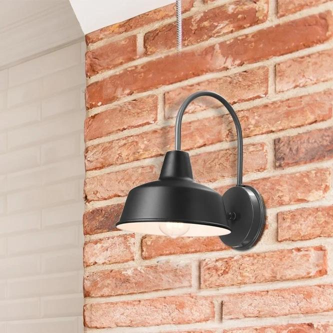 Melody 12-inch Graphite Wall Sconce by Havenside Home - Green