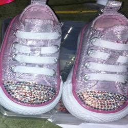 Crystalized Baby-Girl Converse