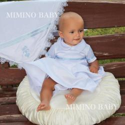 Boys Baptism gown, Boys Christening Outfit