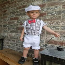 Ring bearer outfit, boy photo shoot, baptism outfit, boy christening outfit, Easter outfit, boy suit, suit with suspenders,Spring boy outfit