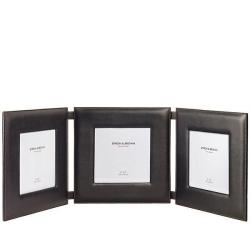 Triple 8 Leather Wall Hanging Picture Frame