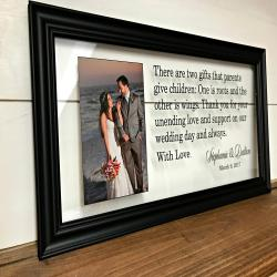 Wedding Gifts for Parents, Wedding Gift for Parents, Parents of the Bride Gift , Parents of the Groom Gift, Wedding Gift, 10X20