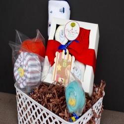 The CUTEST Baby Gift Basket - Baby Boy Gift Basket