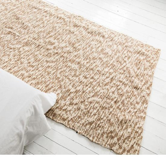 Beige Square rug.  Neutral area rug, Nursery rug, Large rug, Bedroom rug, Area Square rug, Washable Cotton rug, Eco-Friendly