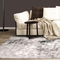 Abstract Area Rug / Modern / Nubia Collection / Rectangular / Machine Made  / Polyester / Egyptian