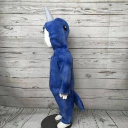 Narwhal Fce Baby Costume, Narwhal Infant Costume, Baby Halloween Costume, Baby Fce Costume, Whale Baby Costume