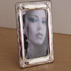 Handmade Sterling Silver Photo Picture Frame 1018 9x13 GB new