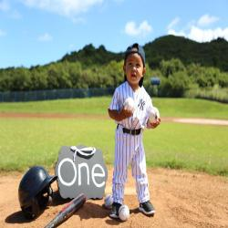 Boys Baseball Uniform,  Pinstripe Uniform, Smash Cake, Baseball Costume, 1st Birthday, Handmade/plain jersey & pants, includes number only