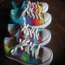 Tie dye Youth Size Converse All Star Chuck Taylor Shoes Low Top and High Top Custom