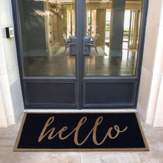 The Most Durable an Elegant Custom Door Mat Available. Infinity Custom Door Mats...The Door Mat You Can Keep Forever. Makes a perfect gift!