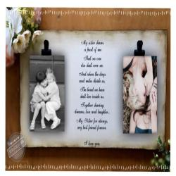 Sisters, Best Friends, Mom and Daughter,Sisters, Family Frame, Two Photos, Rustic Picture Frame with 2 photo s, 5x7 photos, Wedding Gift