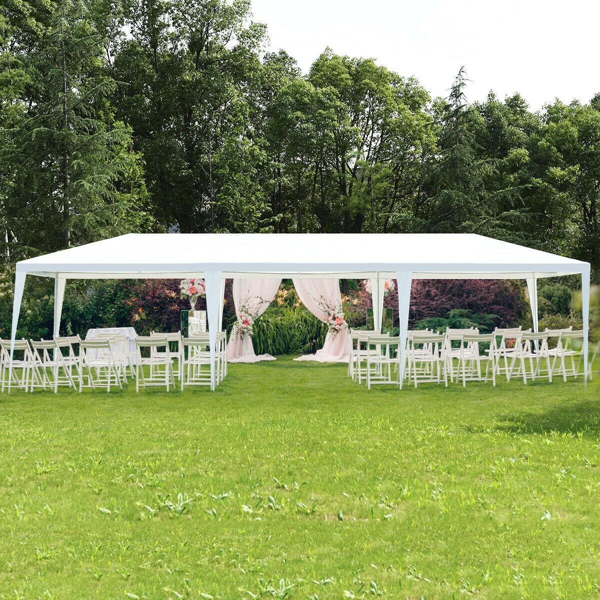 10' x 30' Outdoor Wedding Party Event Tent Gazebo Canopy