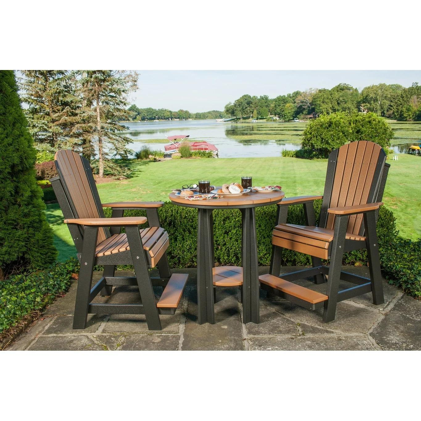 Outdoor Balcony Table Set - Table and 2 Chairs