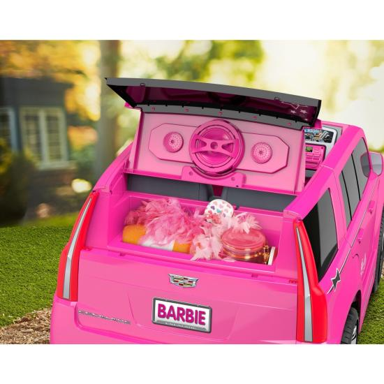 power wheels barbie cadillac escalade ride on vehicle pink usd